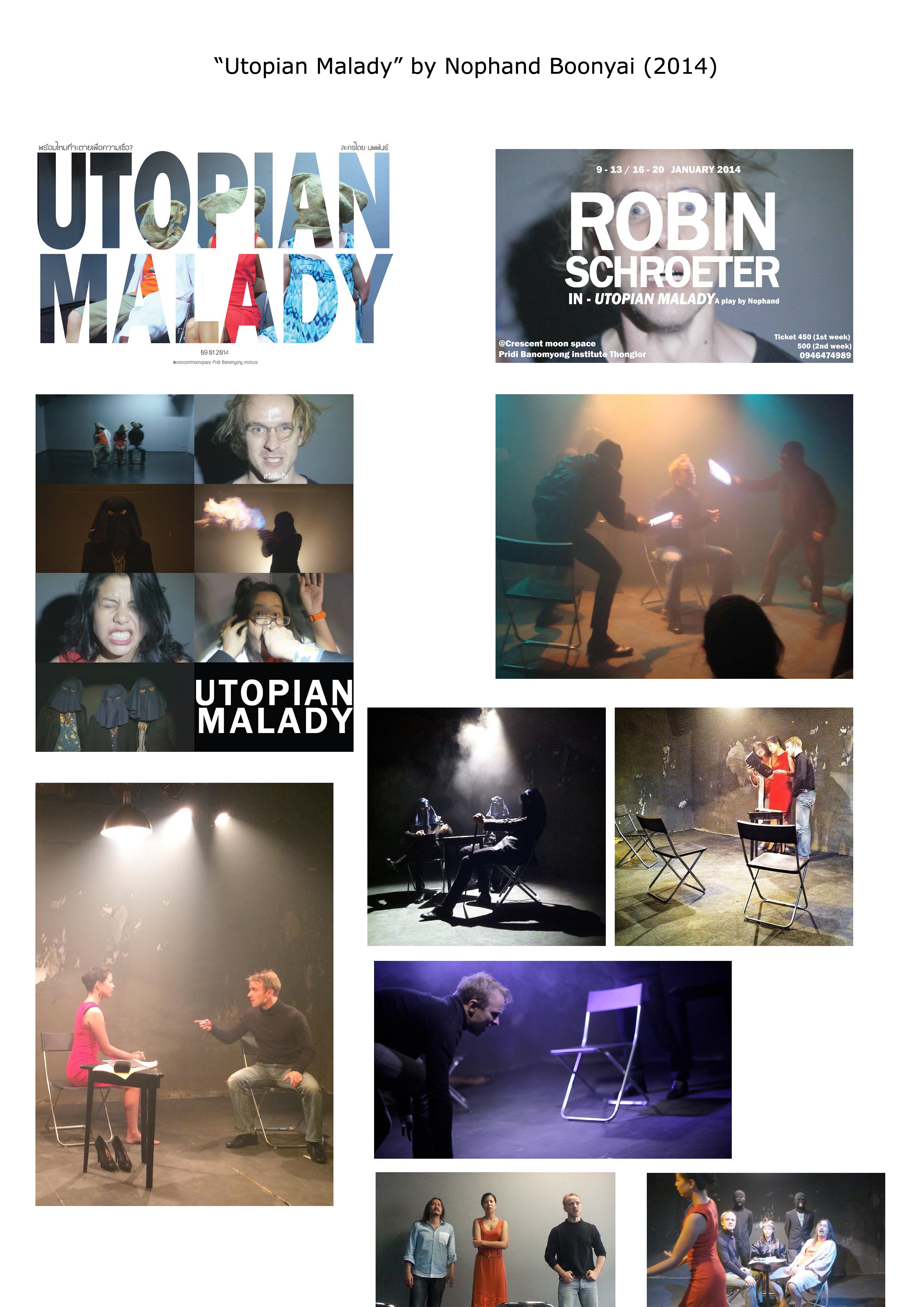 Picture Gallery of Utopian Malady